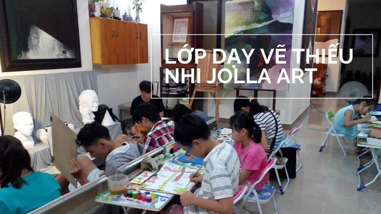 Lớp dạy vẽ ở quận 7 - lớp dạy vẽ thiếu nhi jolla Art