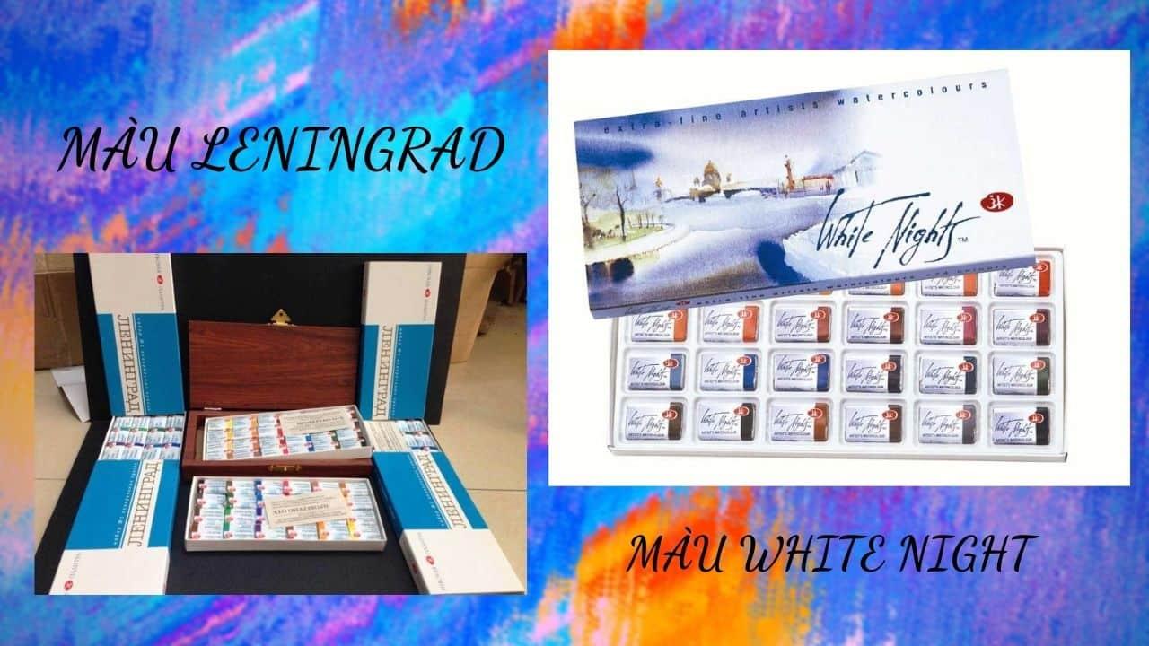 Màu White Night - Màu Leningrad