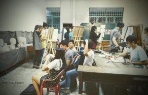 Trung tâm dạy vẽ mỹ thuật quận 1 jolla 1 300x193 - Trung Tâm Đào Tạo Mỹ Thuật JOLLA Quận 1