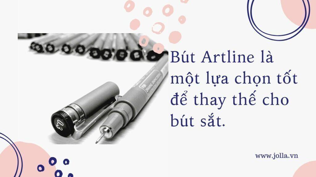 Bút Artline có thể thay thế cho bút sắt