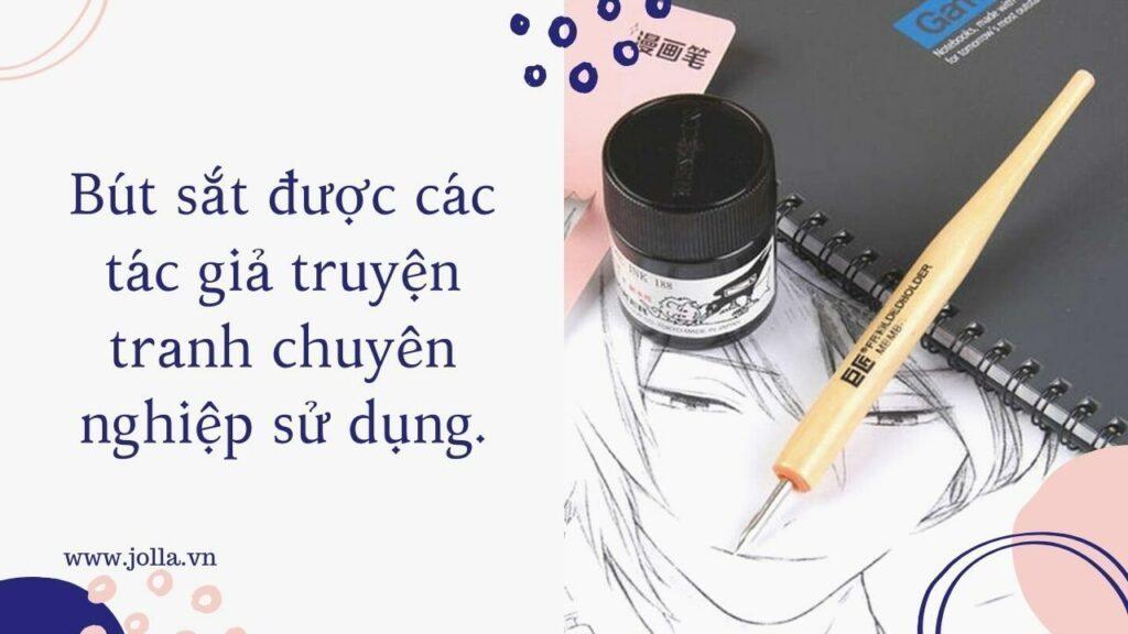 Bút sắt dùng để vẽ truyện tranh