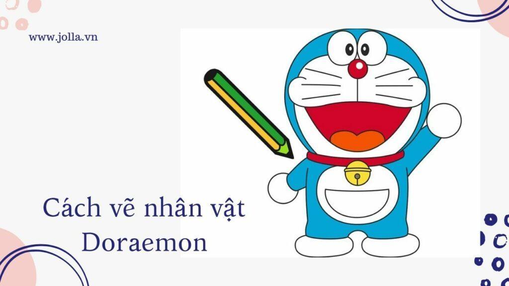Cách vẽ Doraemon