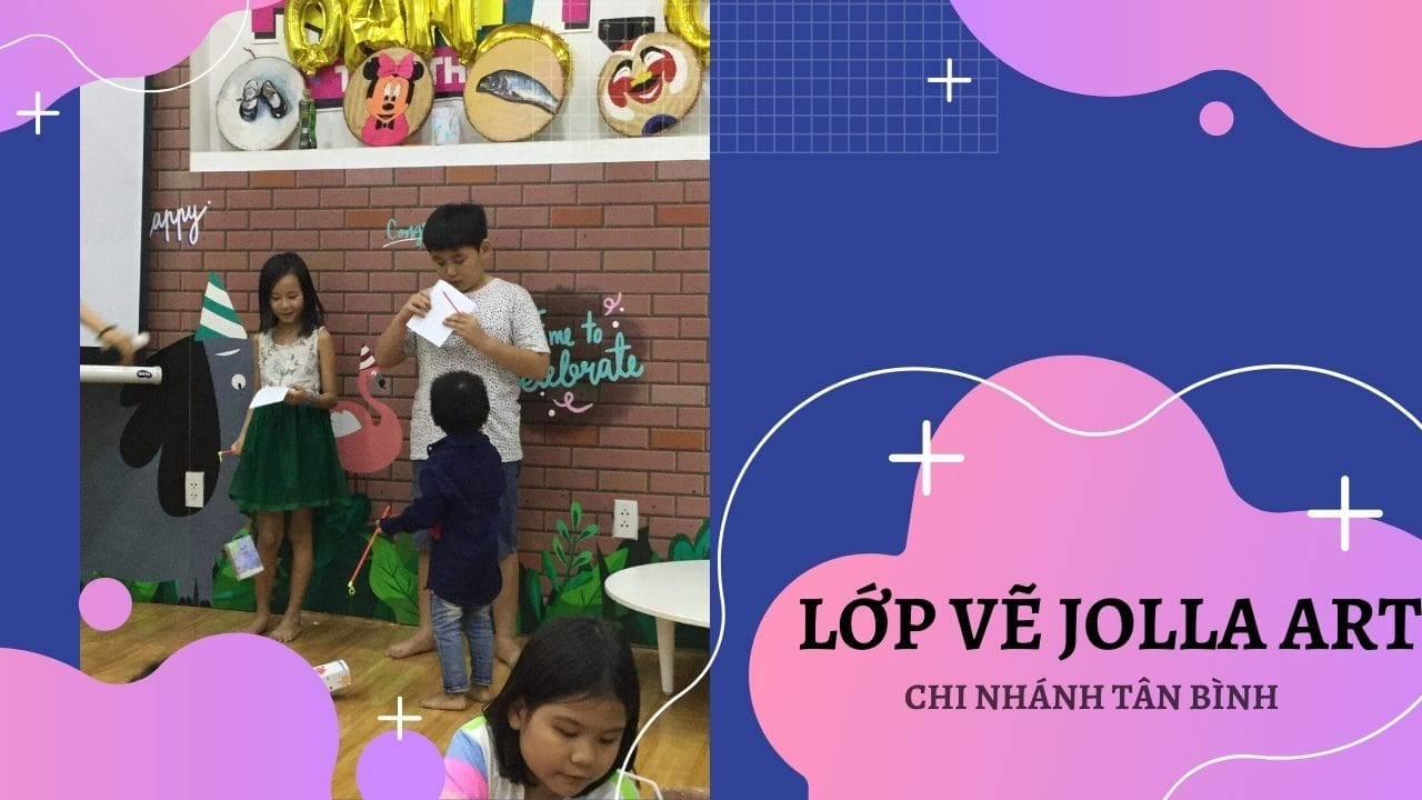 Lớp vẽ Jolla tại quận Tân Bình