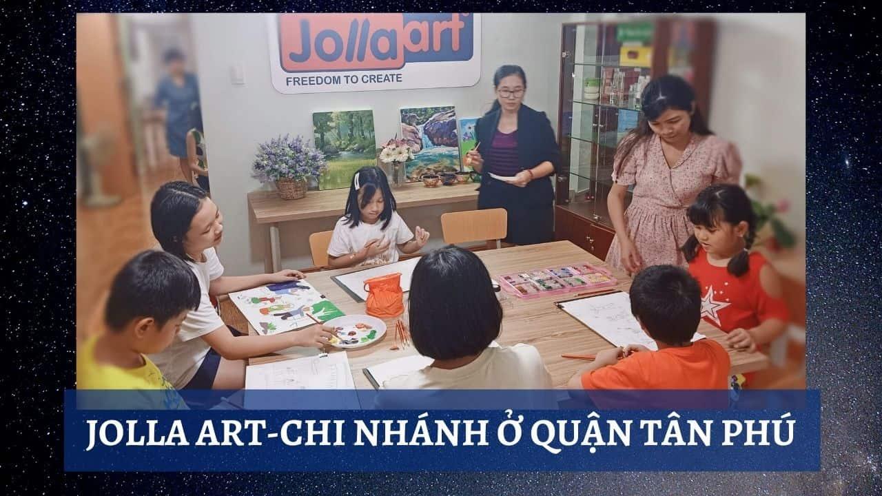 Lớp học vẽ cho thiếu nhi tại Tân Bình