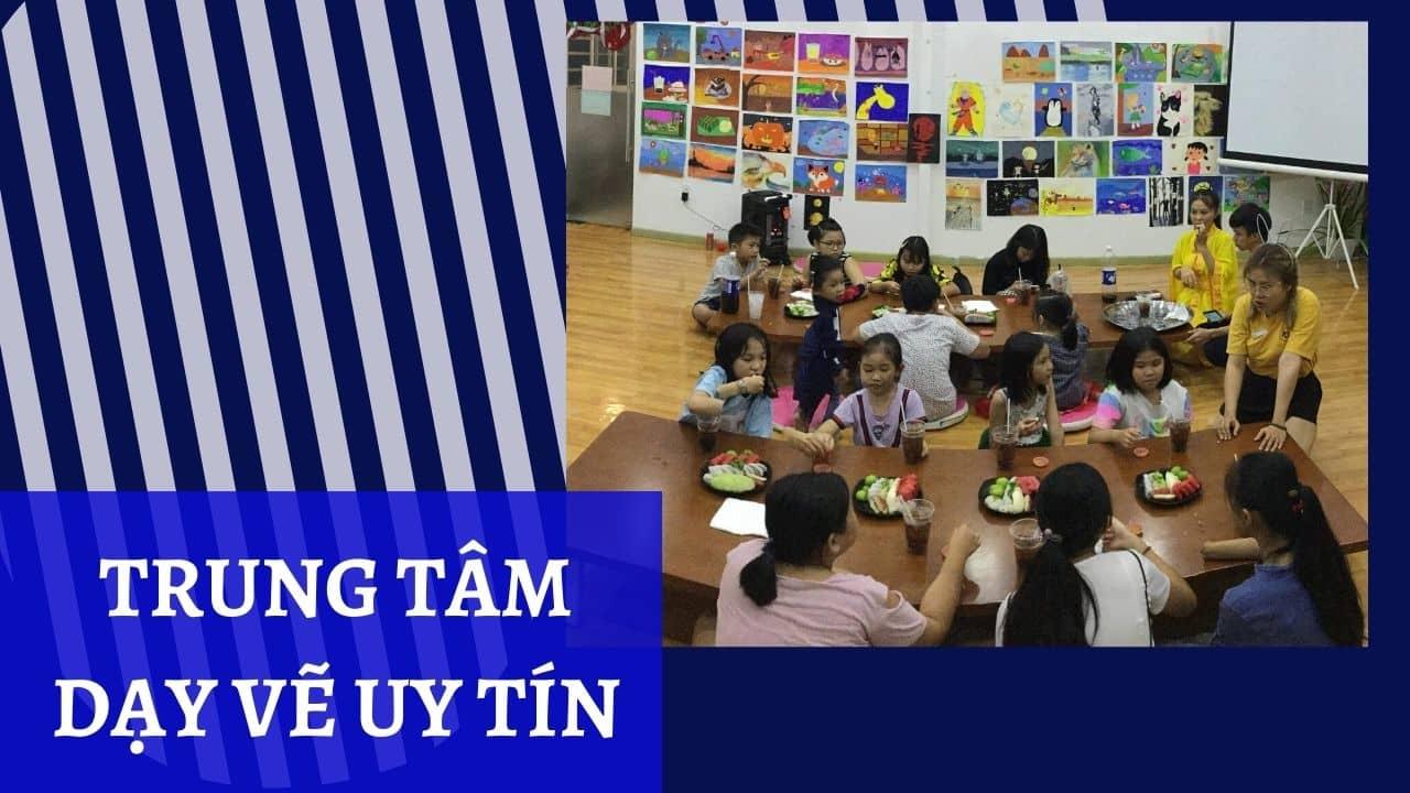Lớp dạy vẽ thiếu nhi Gò vấp - Trung tâm dạy vẽ uy tín