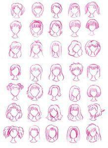 f 219x300 - 9 bước vẽ nhân vật Anime nữ cực đẹp