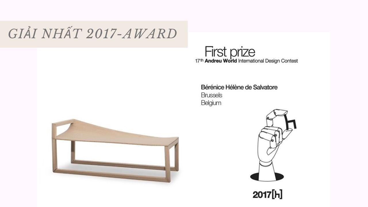 Giải nhất 2017 - Award