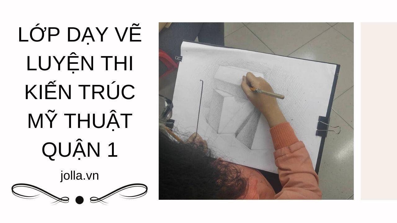Học vẽ luyện thi kiến trúc mỹ thuật