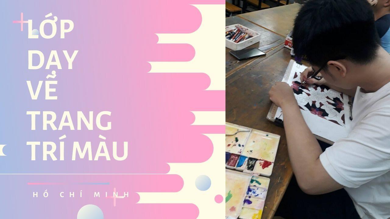 Lớp dạy vẽ trang trí màu