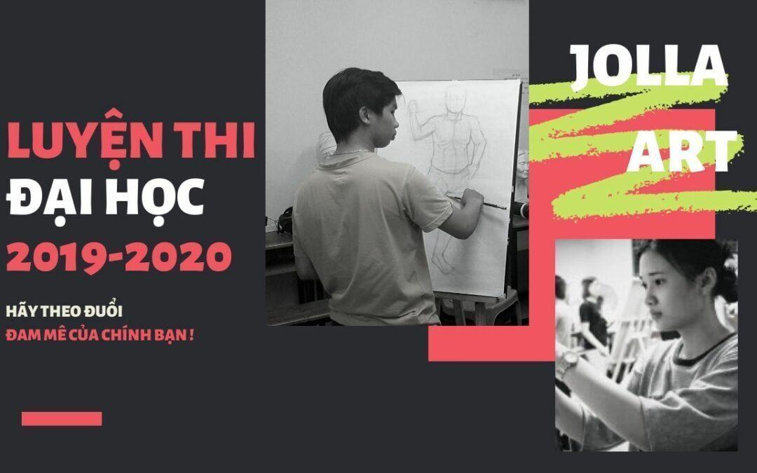 LUYỆN THI ĐẠI HỌC MỸ THUẬT TP.HCM 2019 – 2020