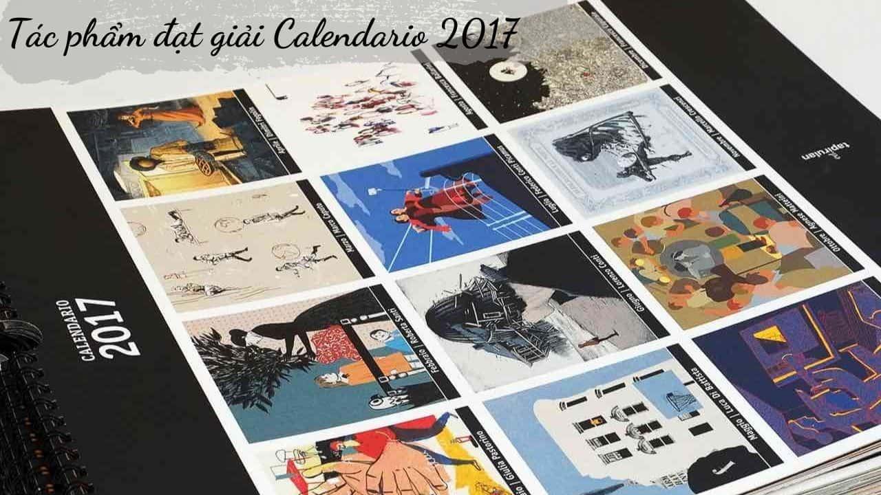 Tác phẩm đạt giải Calendario 2017