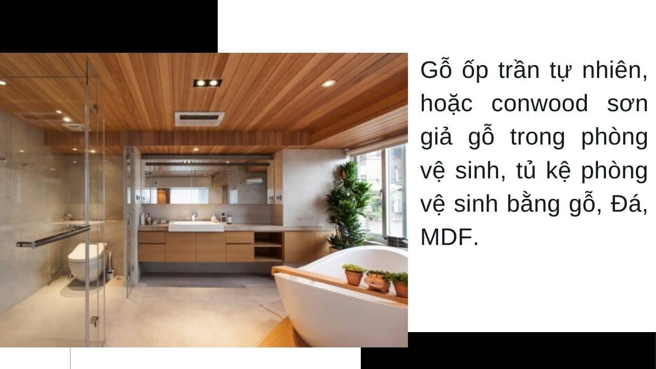 Thi công trang trí nội thất bằng gỗ