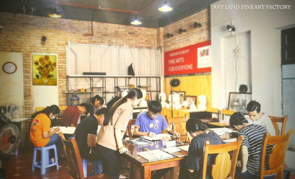 trung tâm dạy vẽ jolla gò vấp - Trung Tâm Đào Tạo Mỹ Thuật JOLLA Quận Gò Vấp