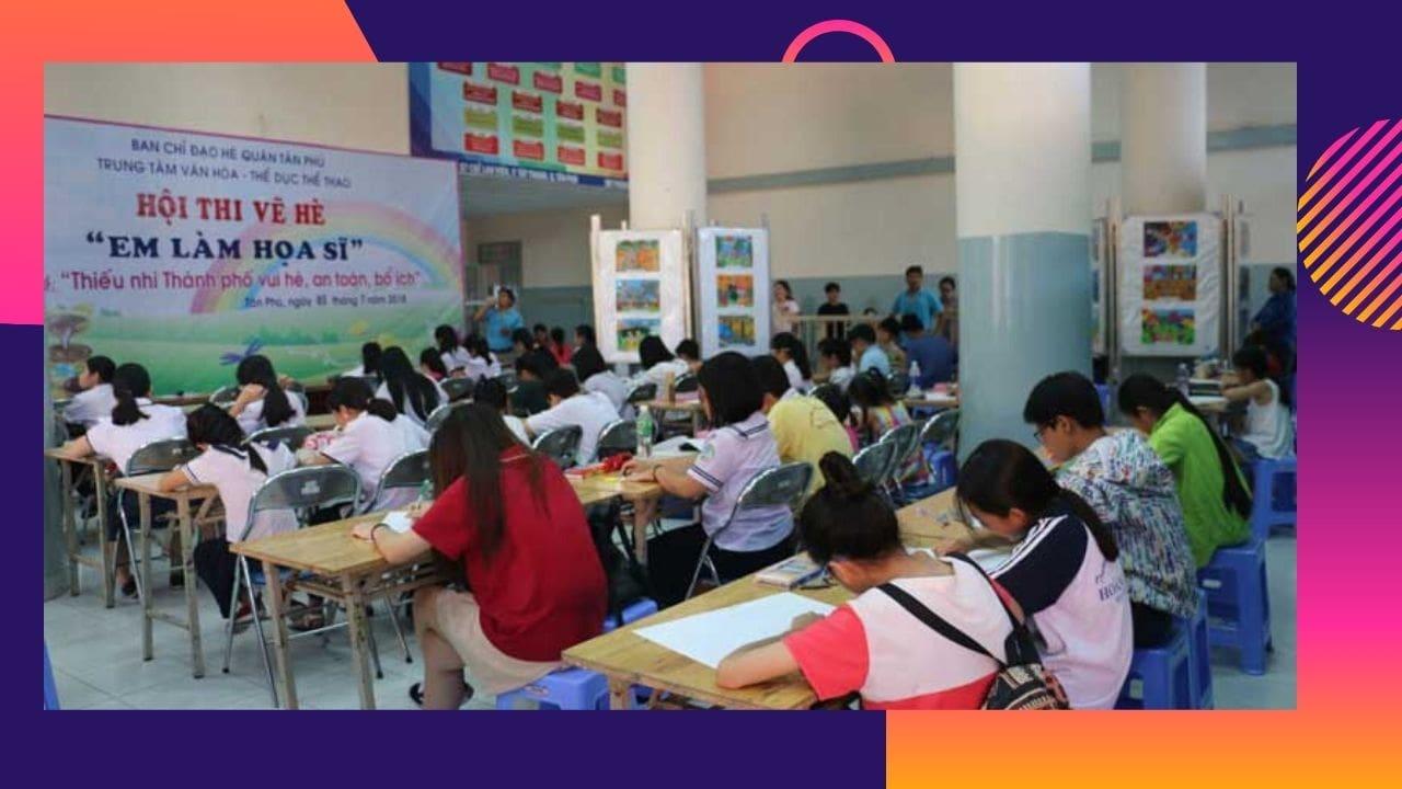 Trung tâm văn hóa thể dục thể thao Tân Phú