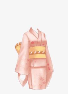 1 9 218x300 - Cách vẽ kimono - dành cho những bạn yêu vẽ tranh Nhật Bản