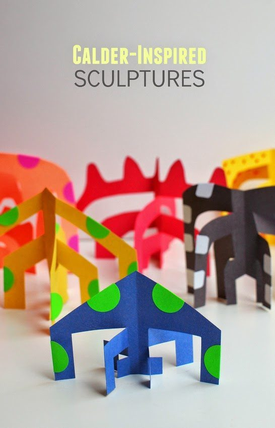 CALDER INSPIRED SCULPTURES