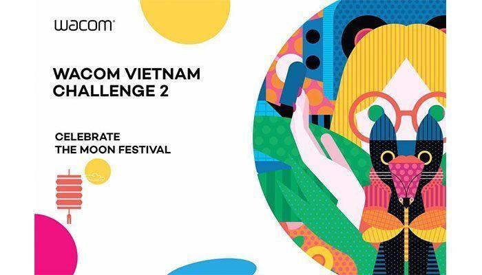 Cuộc thi Vẽ Wacom Challenge Vietnam 2018