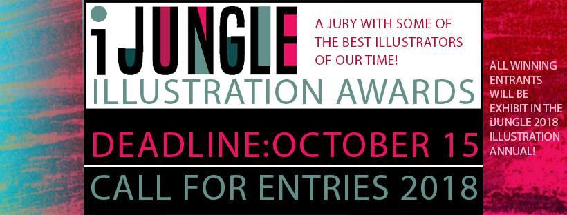 Giải thưởng thiết kế, iJungle Illustration Awards 2018