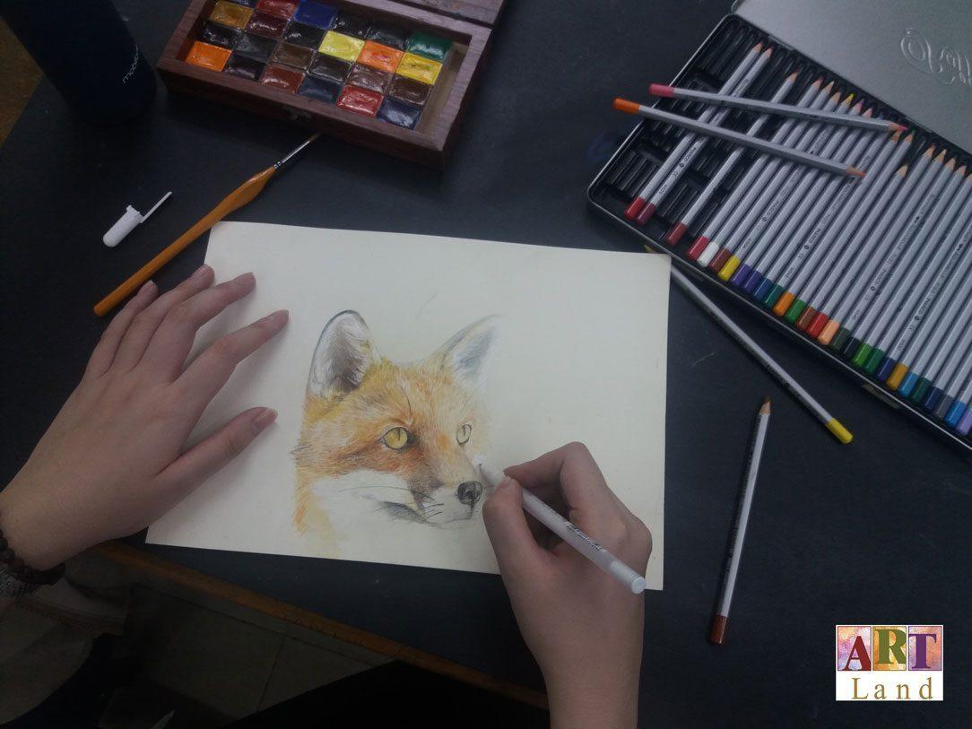 Khóa học vẽ màu nước Jolla - Home
