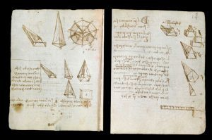 Leonardo-da-Vinci's-Codex-Forster-I-(around-1487-90)-©-V&A-Images