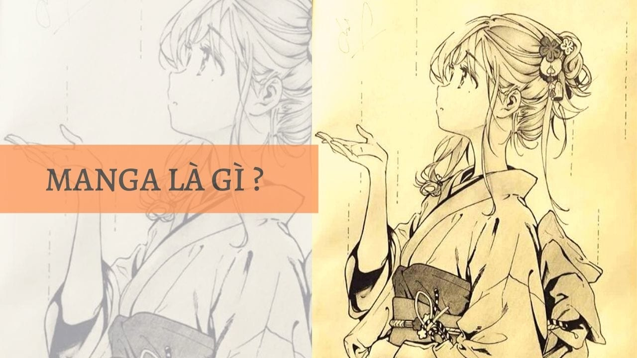 Manga là gì ? (Nguồn Printerest)