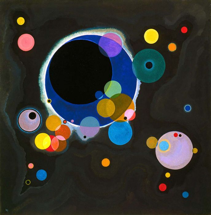 Sketch for Several Circles, 1926 | Wassily Kandinsky | Featured Artists | The Store by Fairfax