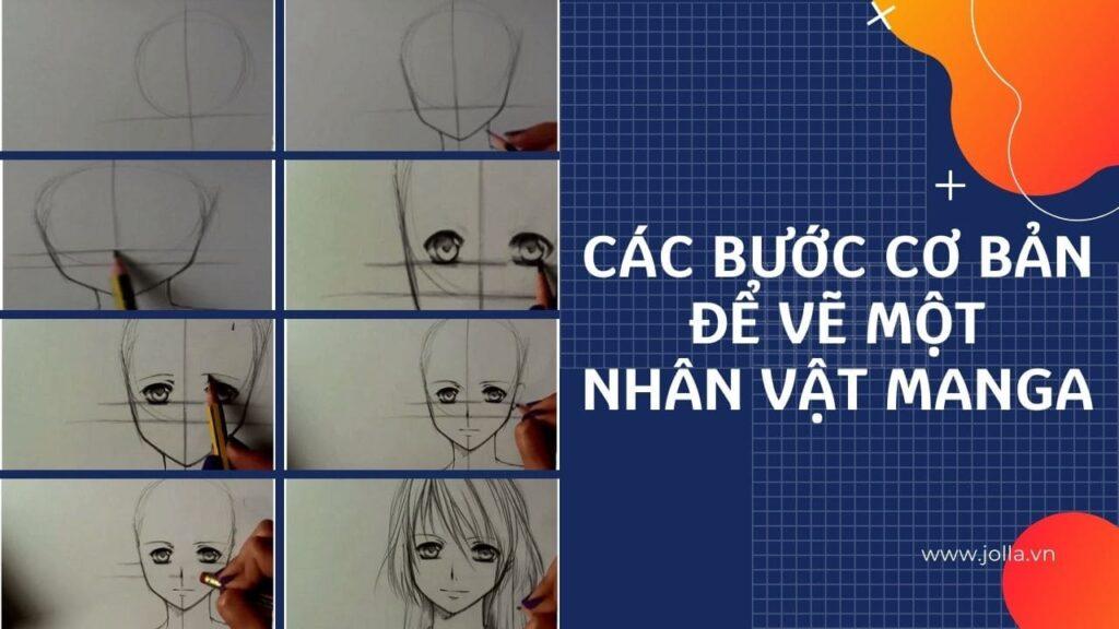 Các bước vẽ manga