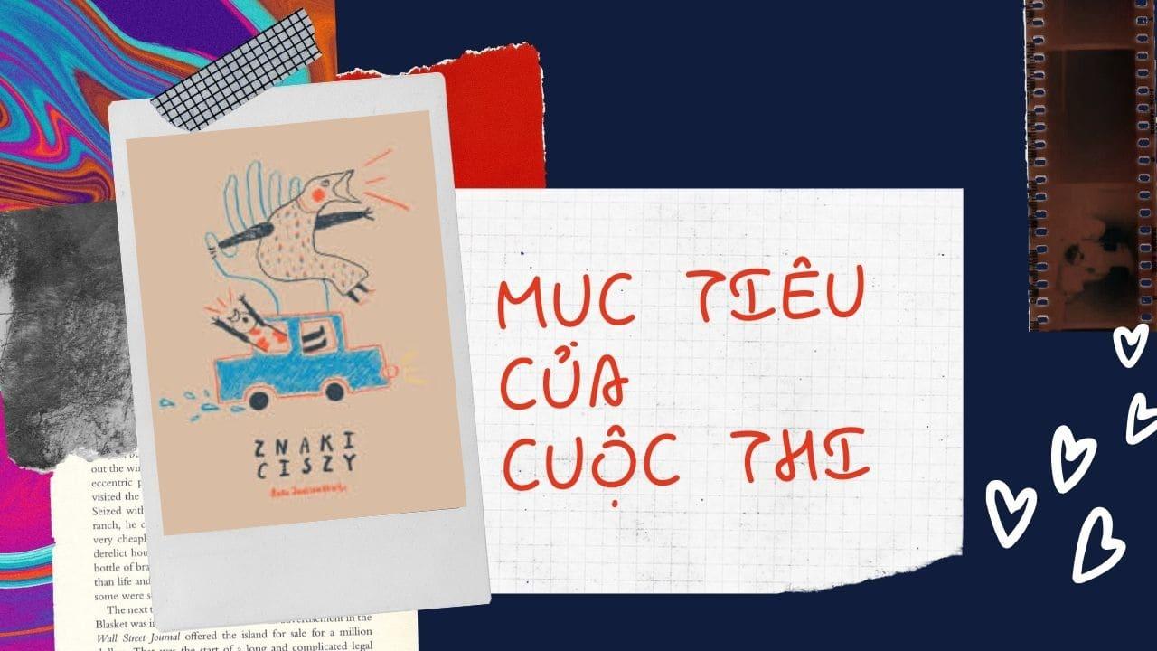 cuộc thi vẽ minh họa sách thiếu nhi : Mục tiêu cuộc thi