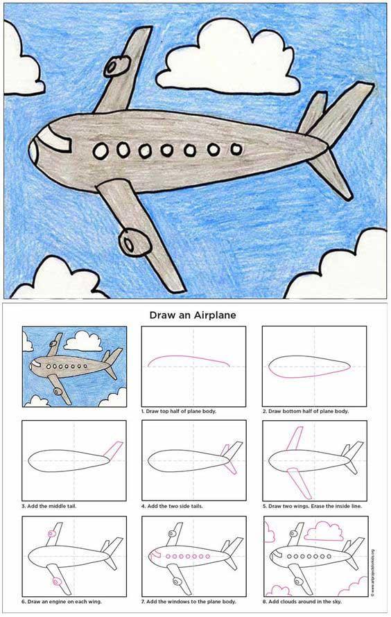 Hướng dẫn vẽ tranh đơn giản cho bé