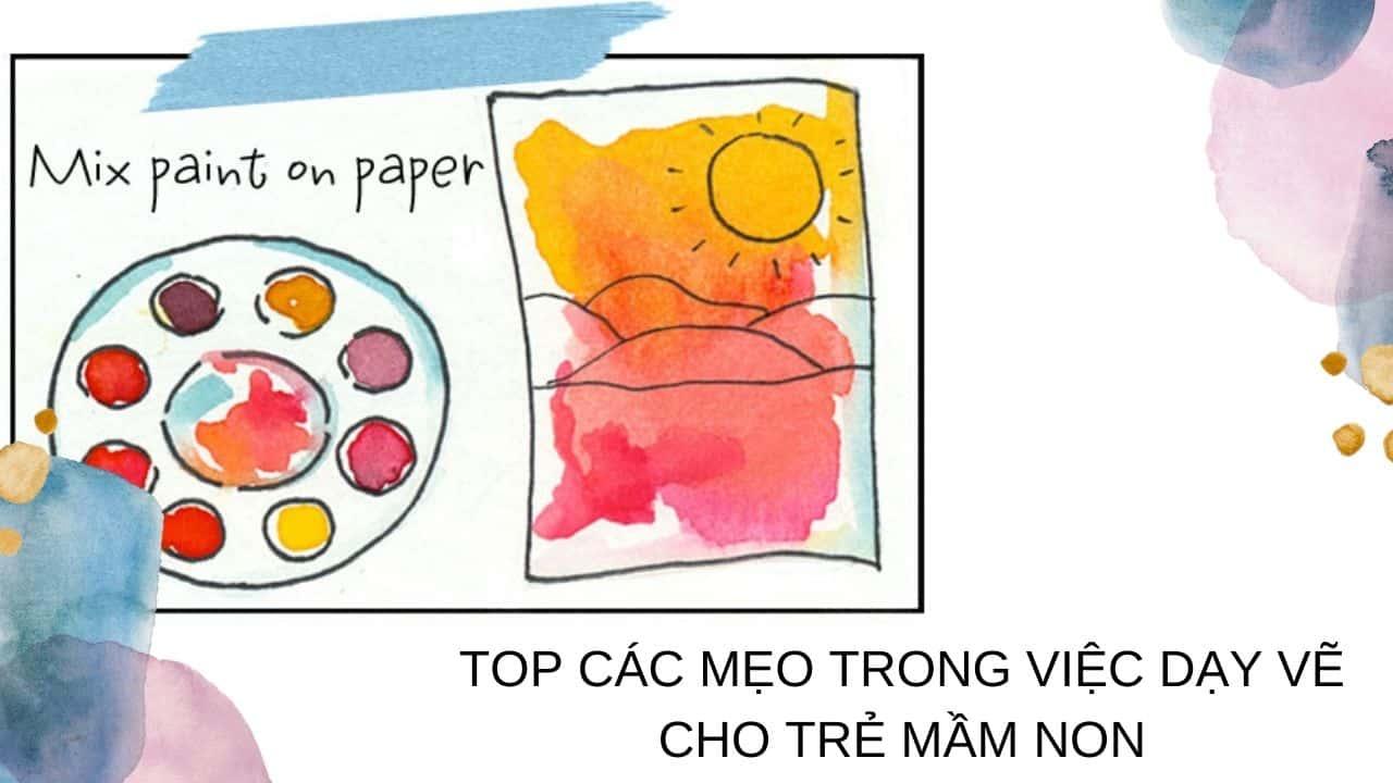 Mẹo dạy vẽ cho trẻ