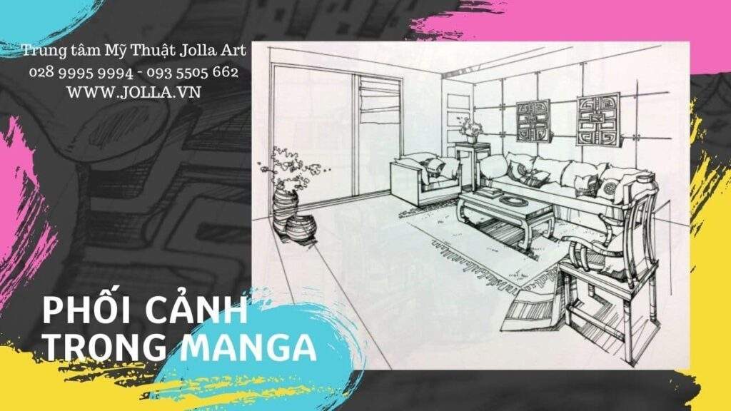 Phối cảnh trong manga