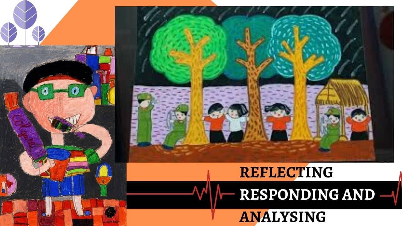 Phương pháp dạy vẽ : Phản ứng và phân tích