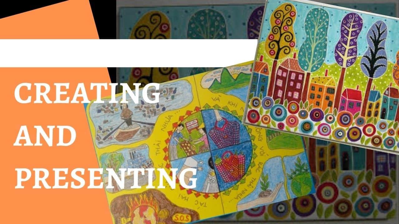 Phương pháp dạy vẽ : Sáng tạo và trình bày