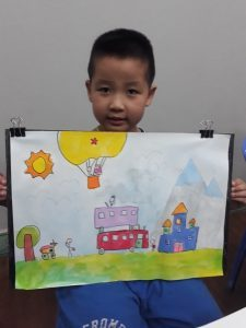 Lớp dạy vẽ cho bé 4 tuổi