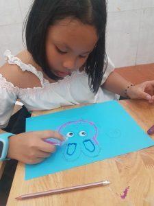 học vẽ tranh be thiếu nhi tphcm