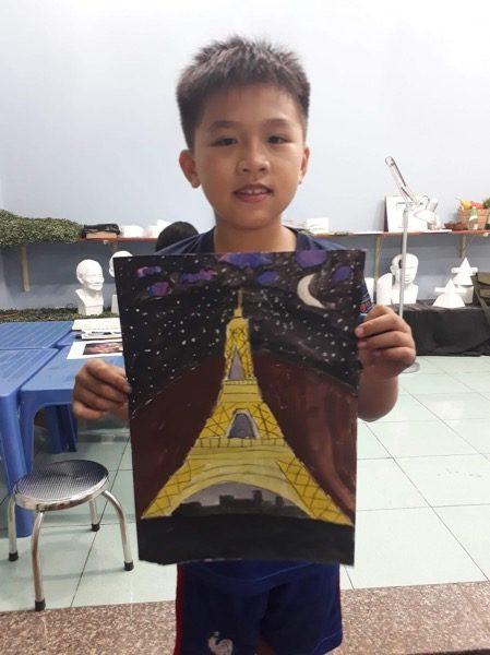 lớp dạy vẽ thiếu nhi quận phú nhuận