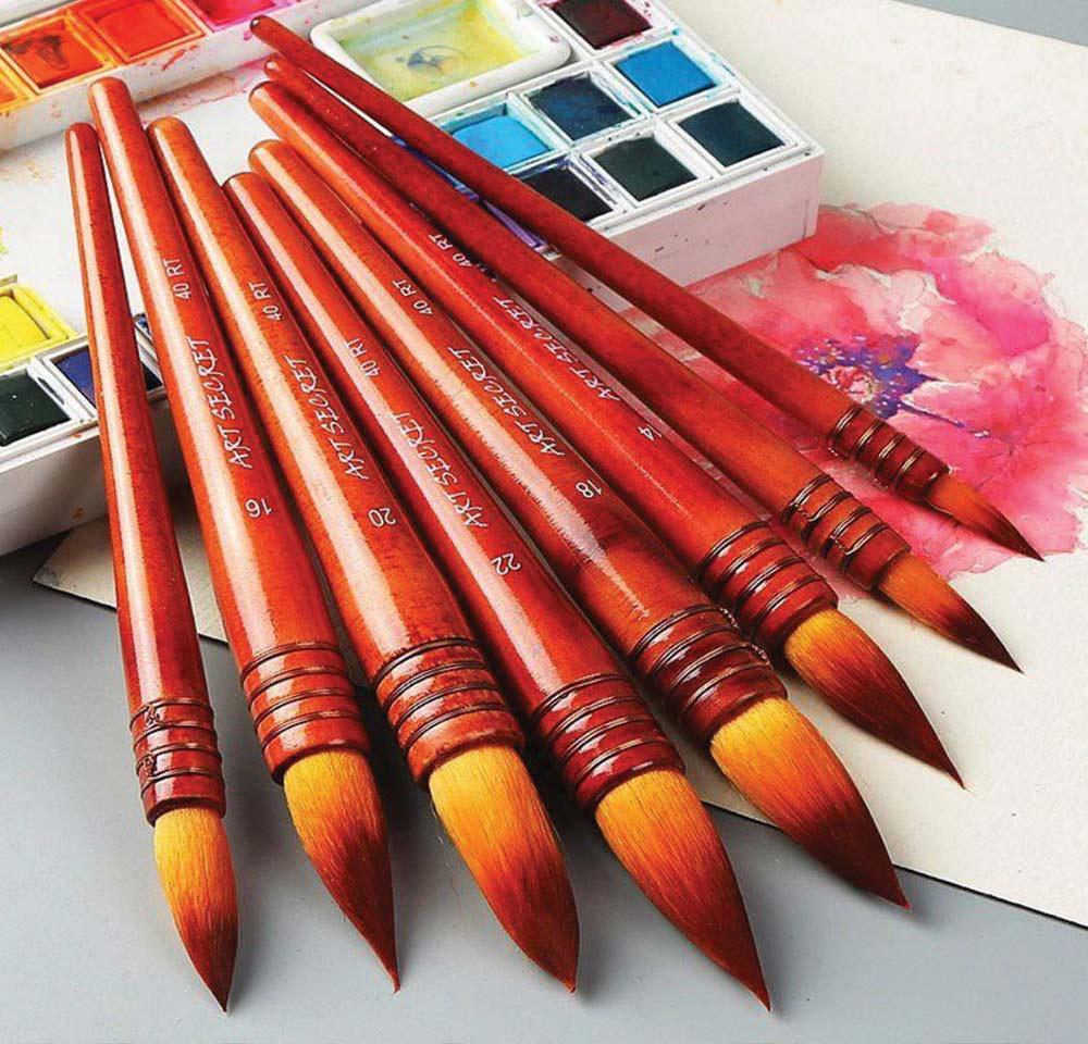 Khóa Học Vẽ Màu Nước 4