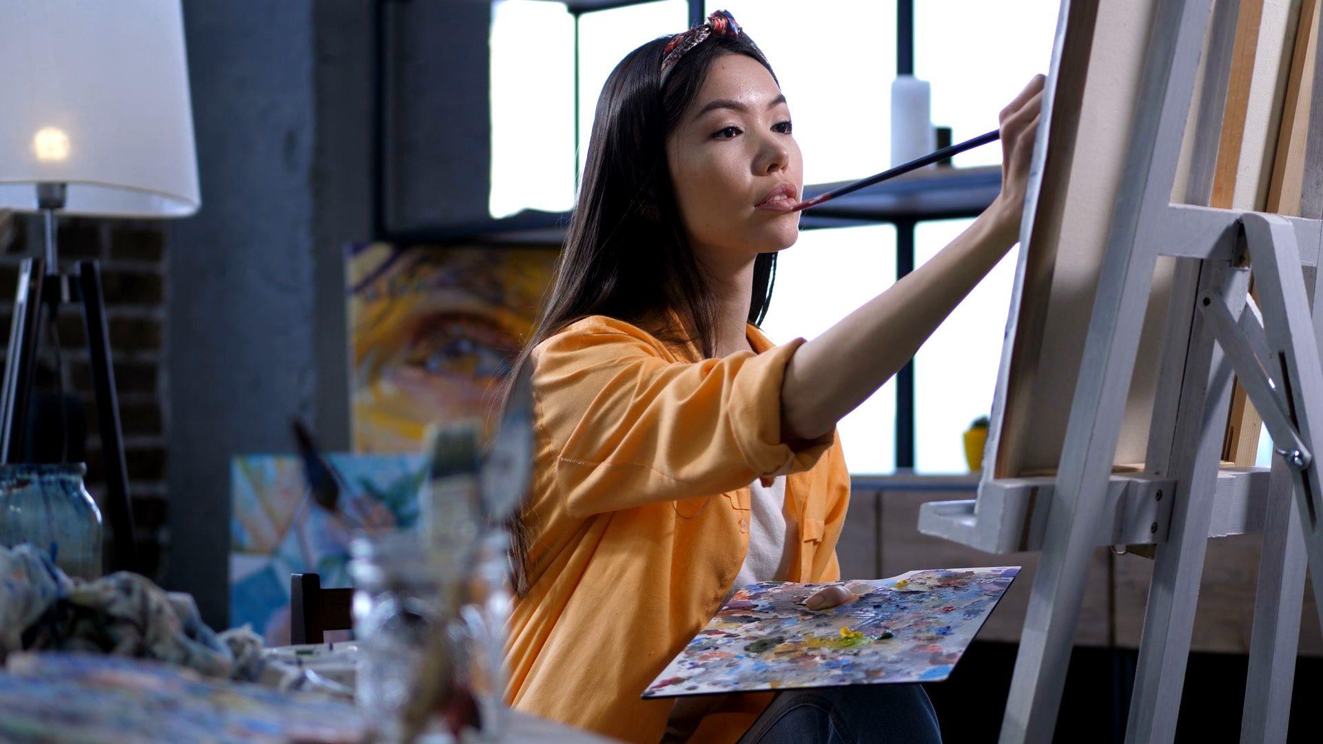 Khóa Học Vẽ Tranh Sơn Dầu 2