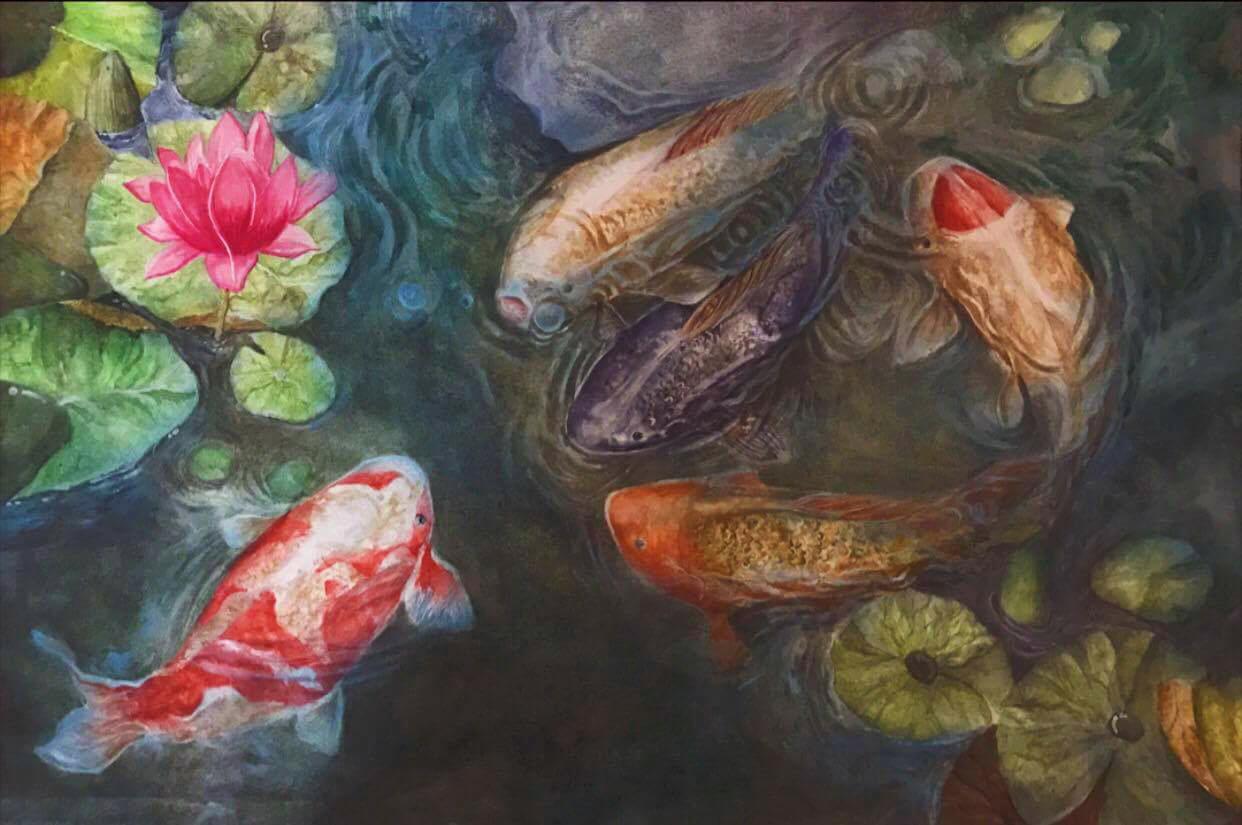Khóa Học Vẽ Tranh Sơn Dầu 3