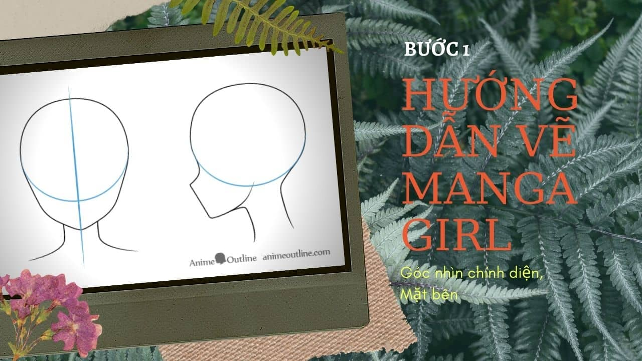 Hướng dẫn vẽ Manga Girl 1
