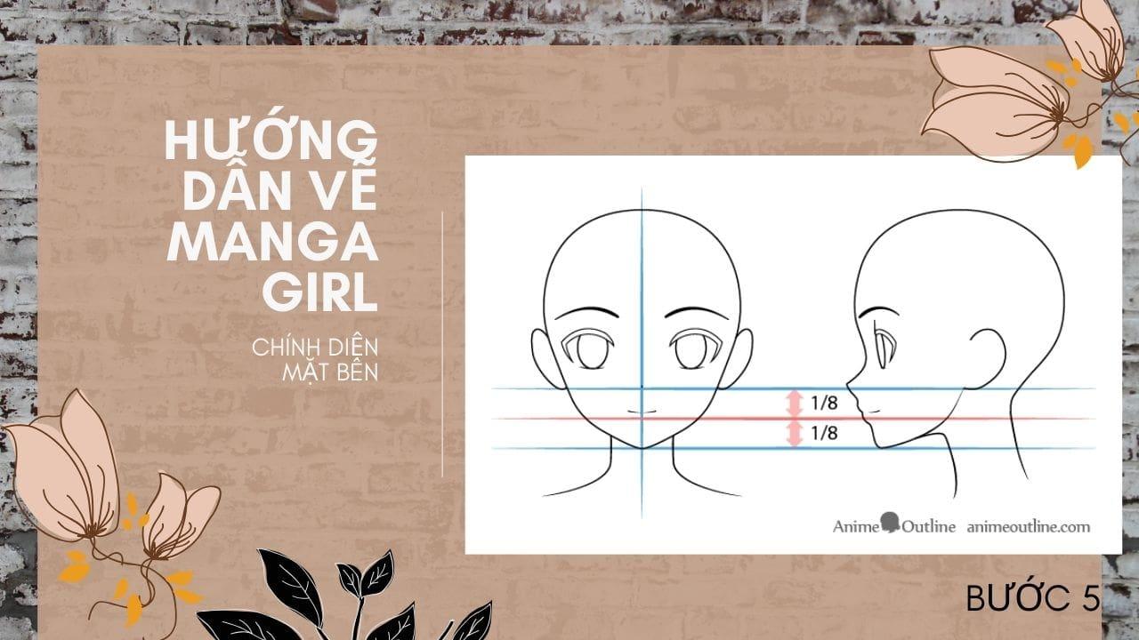 Hướng dẫn vẽ Manga Girl 5