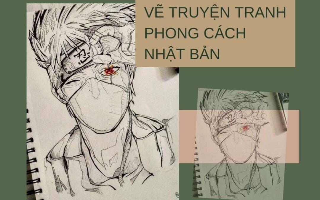 VẼ TRUYỆN TRANH PHONG CÁCH NHẬT BẢN